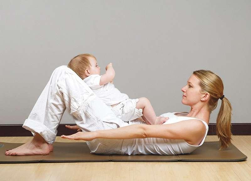 спорт после беременности