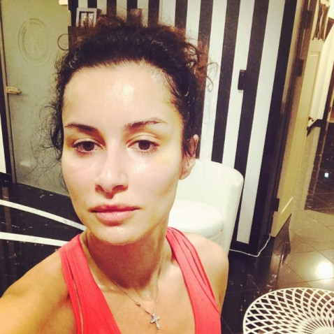Тина Канделаки без макияжа