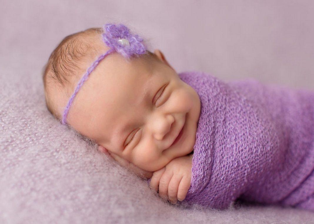 Дыхание новорожденного
