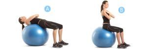 фитбол для похудения