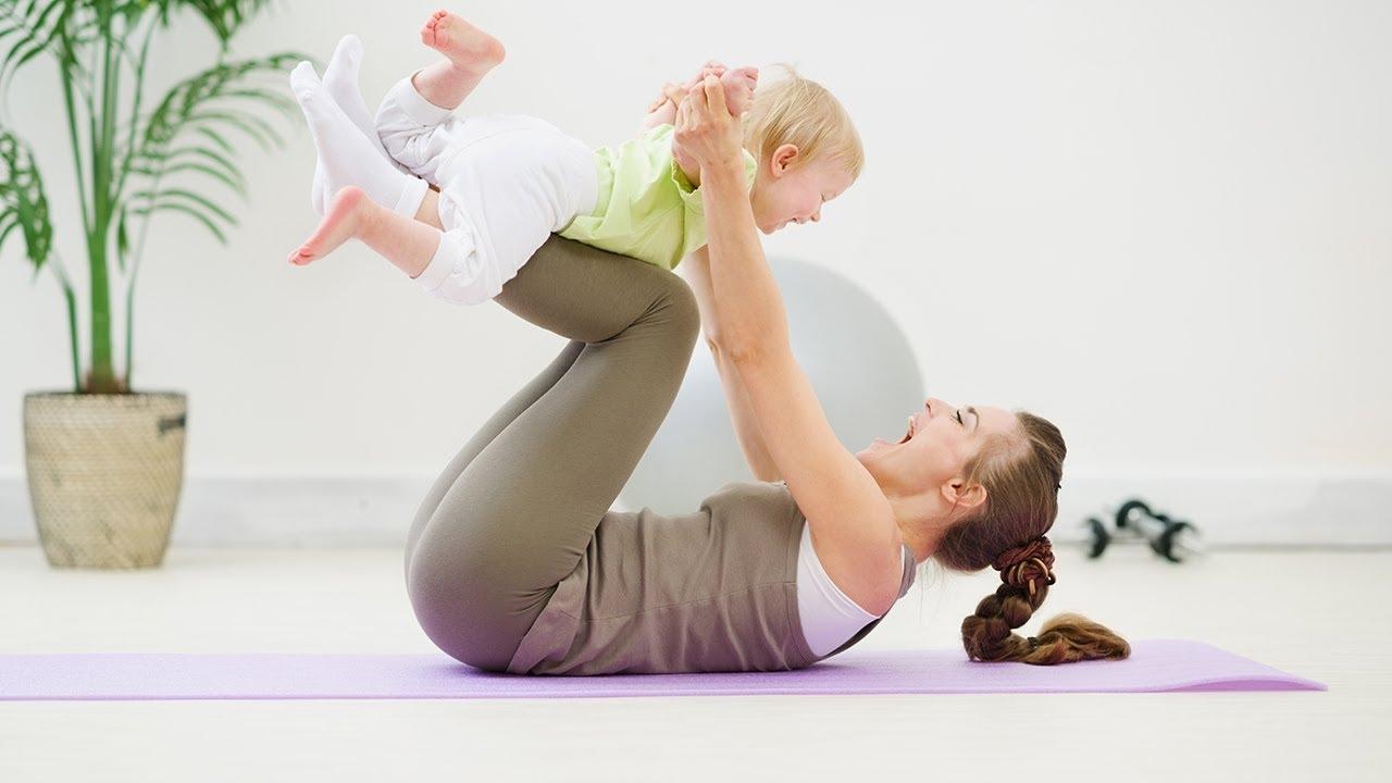 гимнастика для молодых мам