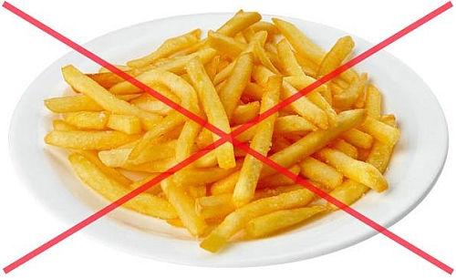 Нельзя картофель