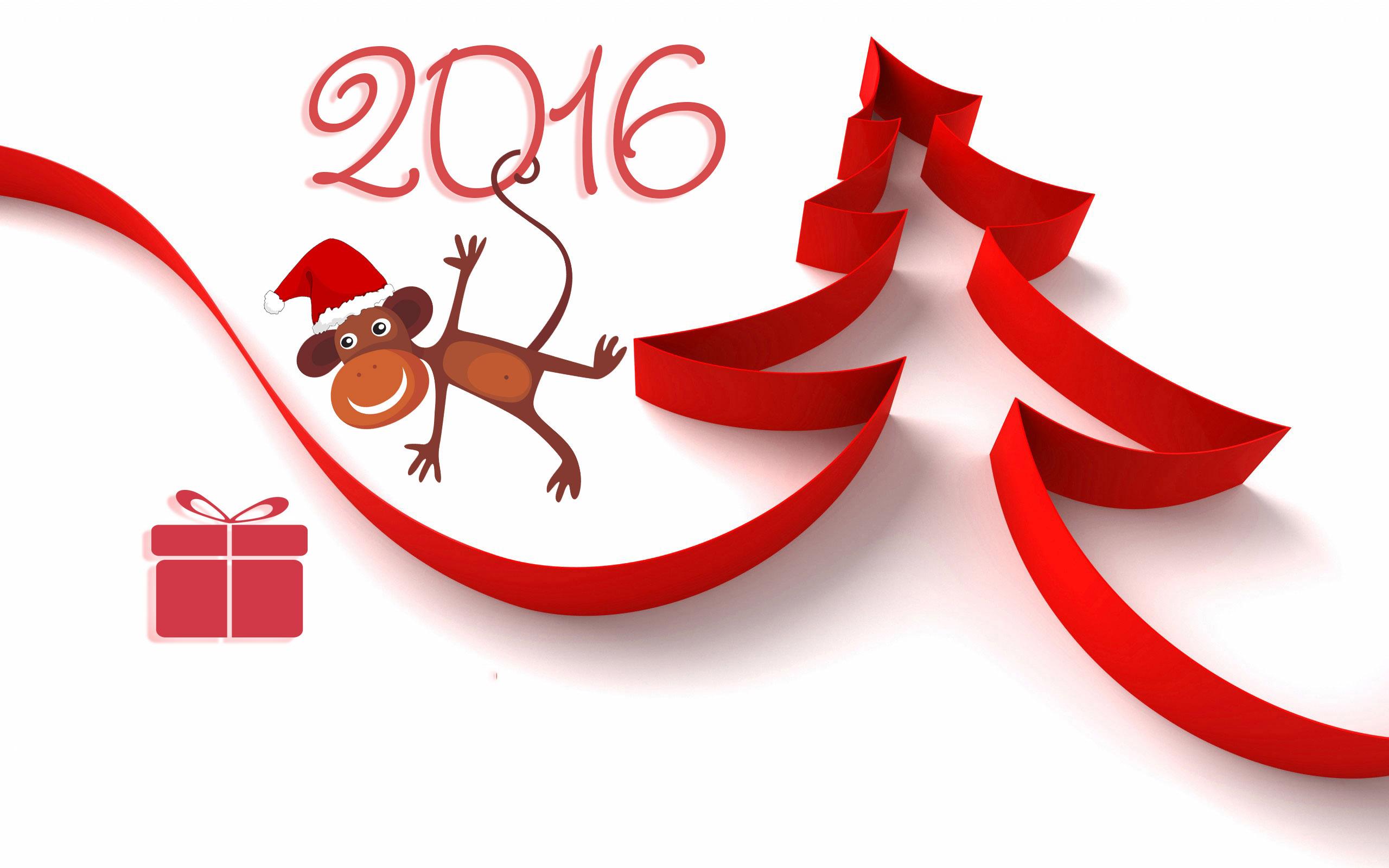 новый год 2016 год