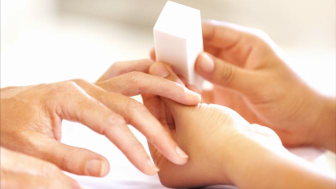 полировка ногтей