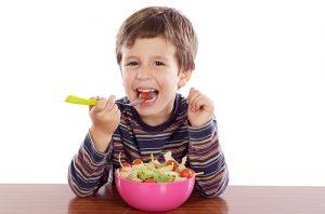 правильное питание против детской перхоти