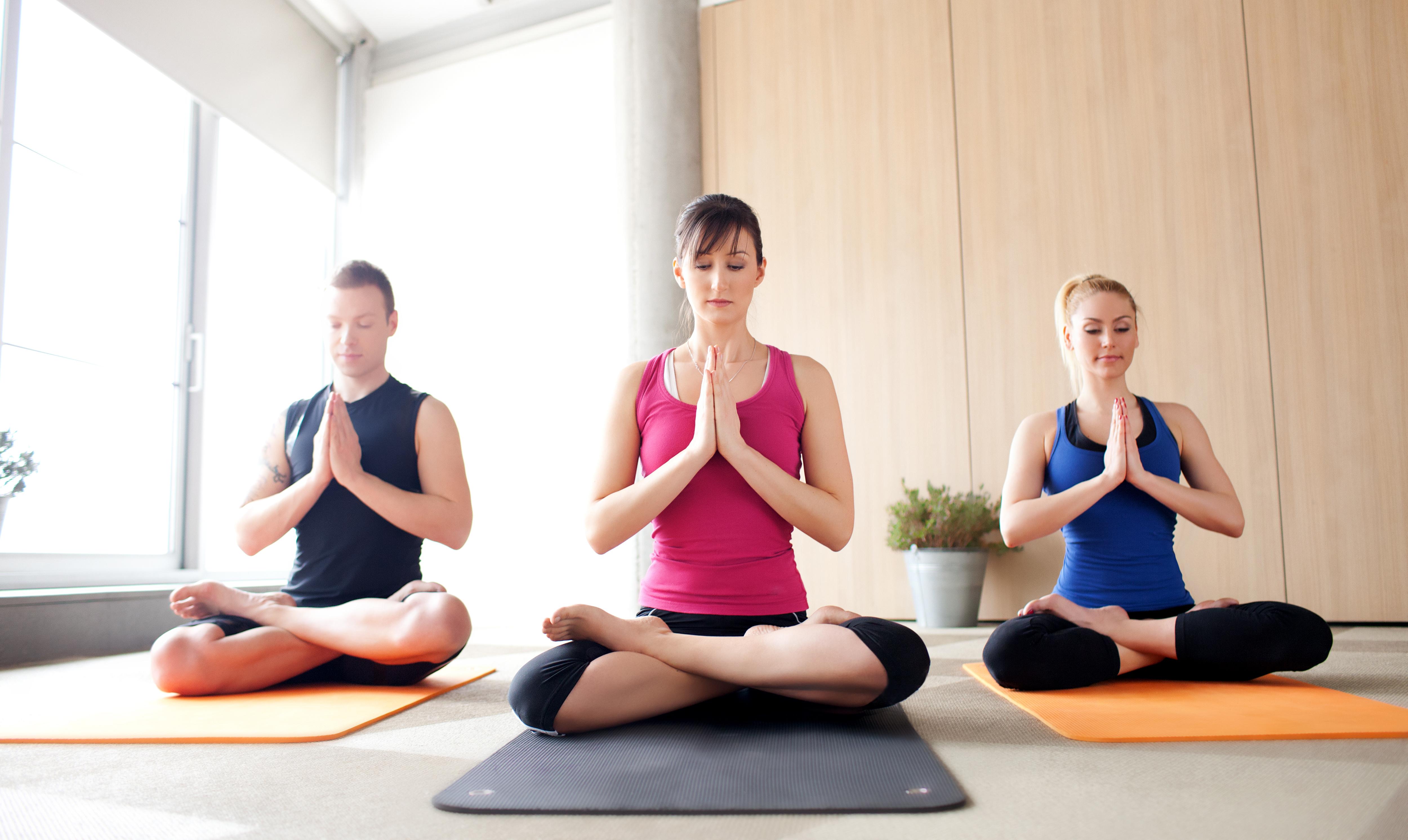 привыкнуть к йоге