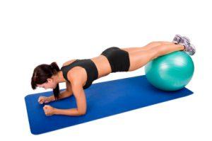 упражнение планка для похудения