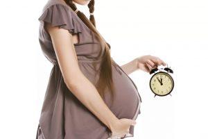 время рожать