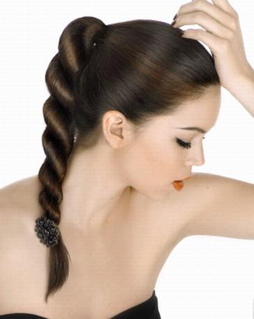 красивые прически на длинные волосы